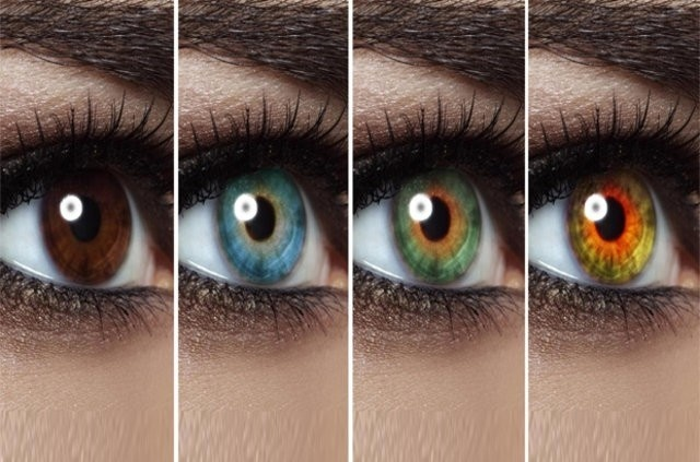 Göz rengi her şeyi belli ediyor