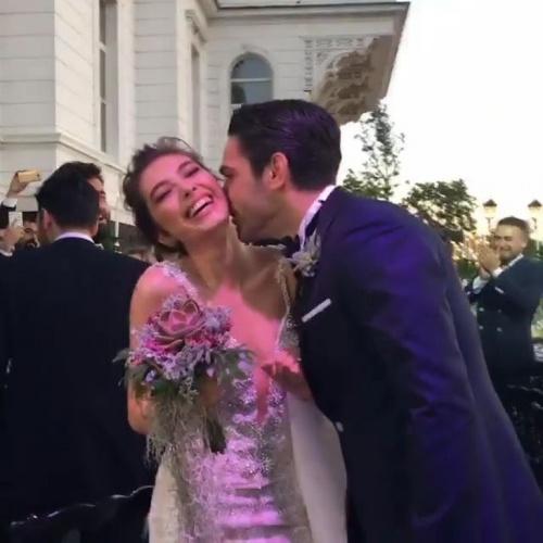 Neslihan ve Kadir Doğulu düğününden kareler
