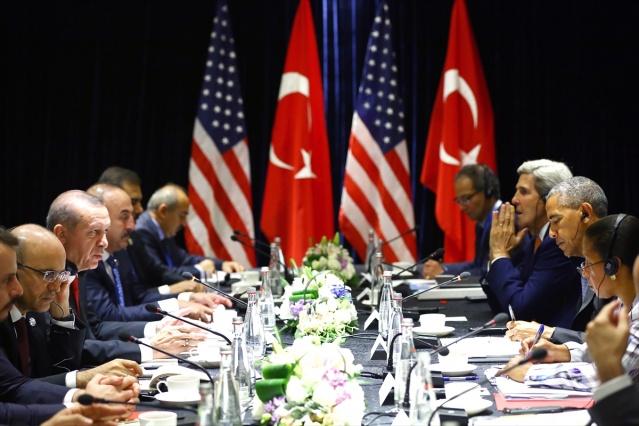 Erdoğan ile Obama Görüşmesi