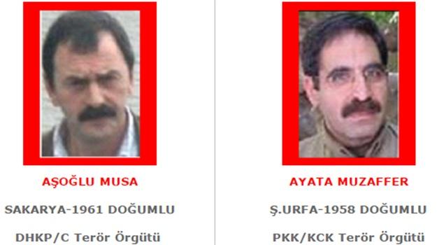 İşte Kırmızı Bültenle Aranan Teröristlerin Listesi !