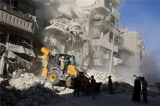 Halep'te Ölü Sayısı 359'a Yükseldi !