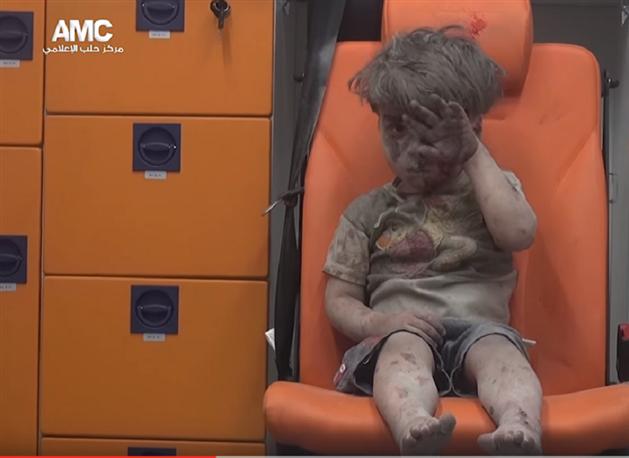 Vicdanlarımıza Seslenen Halepli Çocuk