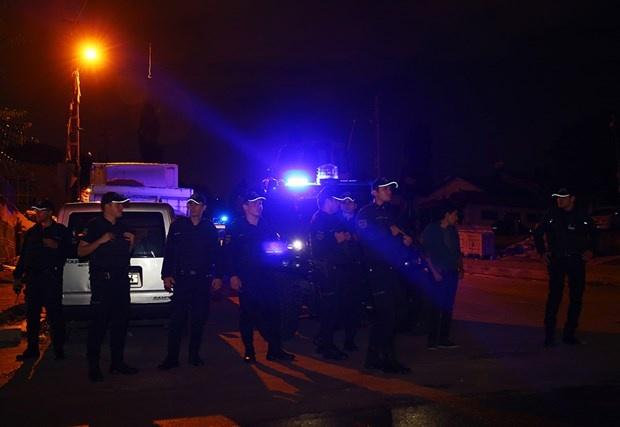 Ankara'da Bin Polisle Asayiş Uygulaması !