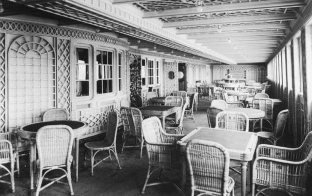 Titanik'in Hiç Bilmediğiniz İç Fotoğrafları