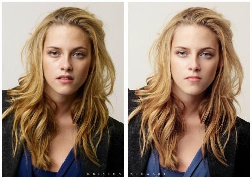 Photoshop öncesi ve sonrası 16 ünlü