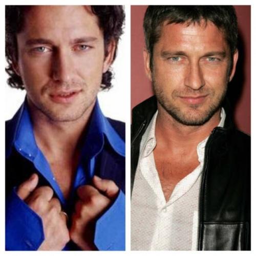 Orta yaşlı hali gençliğinden yakışıklı ünlüler