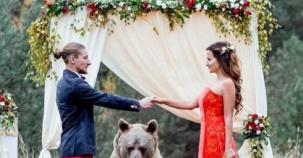 Böyle Düğün Görülmedi ! Nikah Şahitleri Ayı Oldu!