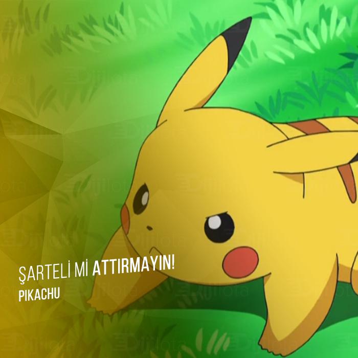 """Pokemonlardan Efsanevi İnsan Replikleri: """" Su İçsem yarıyor. """""""