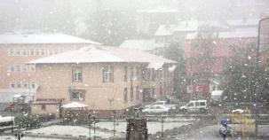 Bu Fotoğraflar Bugün Çekildi! Yurttan Kış Manzaraları