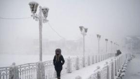 - 65 Dereceyle Dünyanın En Soğuk Köyünden Görüntüler