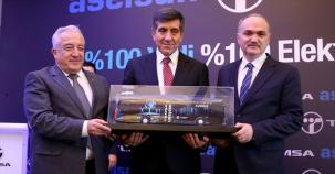 Türkiye'nin İlk Yerli Elektrikli Otobüsü