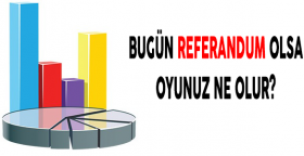 Bugün referandum olsa oyunuz ne olur?