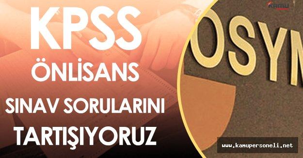 16 Ekim 2016 KPSS Önlisans Soruları, Cevapları ve Yorumları ( Sınav Zor Muydu? )