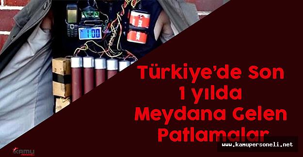 2015 Yılından Bu Yana Türkiye'de Gerçekleşen 12 Terör Saldırısı ve Bilançoları