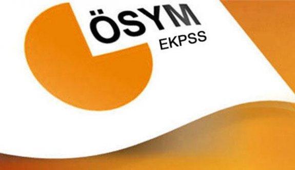 2016 Senesi EKPSS Takvimi Yayımlandı