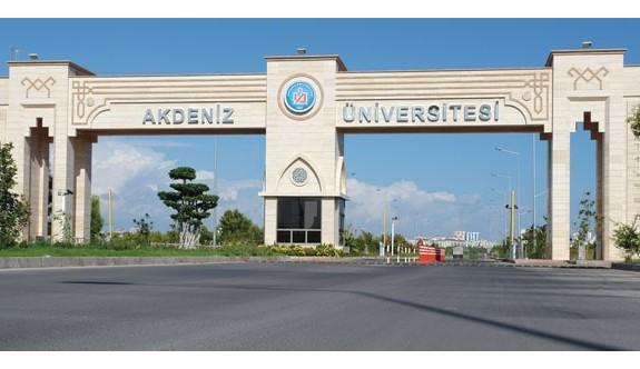 Akdeniz Üniversitesi Rektörlüğü Akademik Personel Alacağını Açıkladı