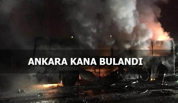 Ankara'da Hain Terör Saldırısı