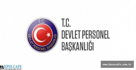 DPB'den Kamu Kurumlarına Atama Esaslarıyla İlgili Açıklama