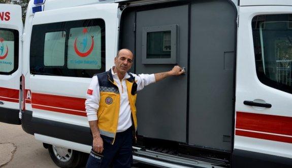 Terör Nedeniyle Sağlık Çalışanlarına Zırhlı Ambulans Yardımı