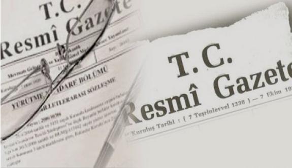 12 Mart 2016 Resmi Gazete Atama Kararları