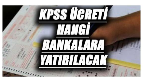 2016 KPSS Başvuru Ücretleri Hangi Bankalara Yatırılabilir ?