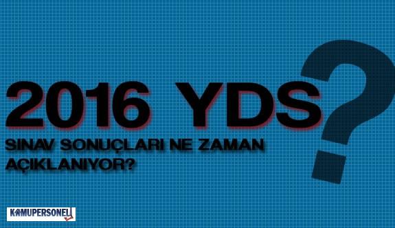 2016 YDS Sonuçları Ne Zaman Açıklanacak?