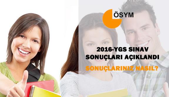 2016-YGS Sonuçları Açıklandı Sonuçlarınız Nasıl ? (Öğrencilerin Yorumları)
