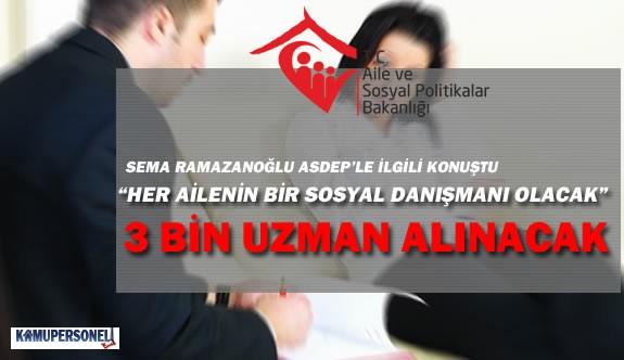 Aile Bakanlığı ASDEP Kapsamında 3 Bin Danışman Alacak