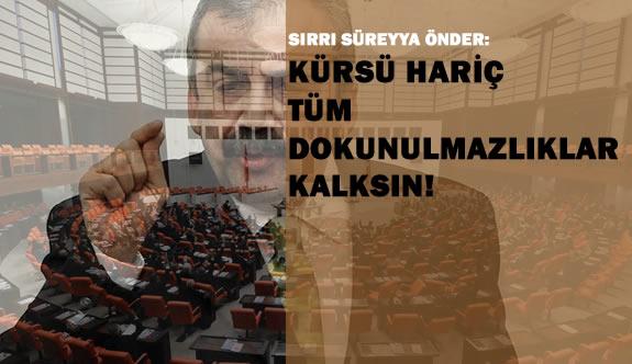 Ak Parti ve HDP Dokunulmazlık Görüşmesi Yaptı