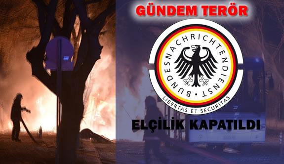 Almanya Büyükelçiliği Terör Şüphesiyle Kapatıldı