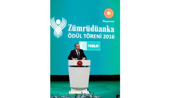 """Cumhurbaşkanı Erdoğan """"Bazı Kesimler Bizi Engellemeye Çalışıyor"""""""