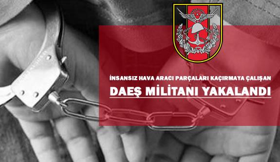 DAEŞ Militanı İnsansız Hava Aracı Parçaları Kaçırıyordu