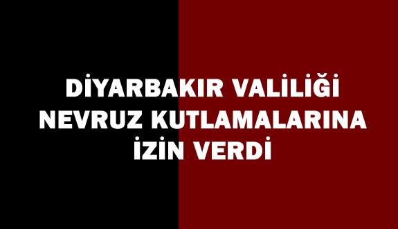Diyarbakır Valiliği Nevruz Kutlamasına İzin verdi