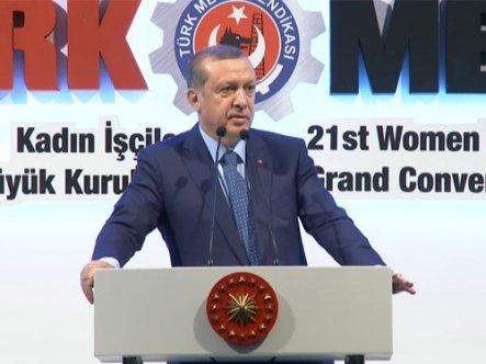"""Erdoğan : """"Benim İçin Kadın Annedir"""""""
