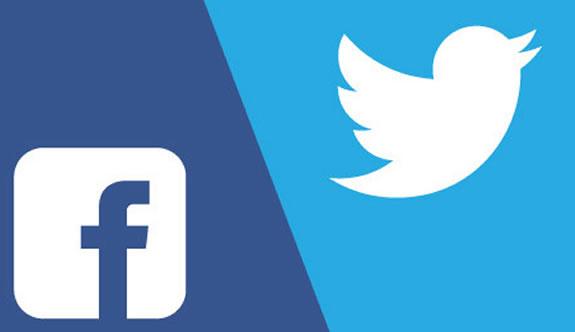 Facebook ve Twitter 'a Ankara Engeli