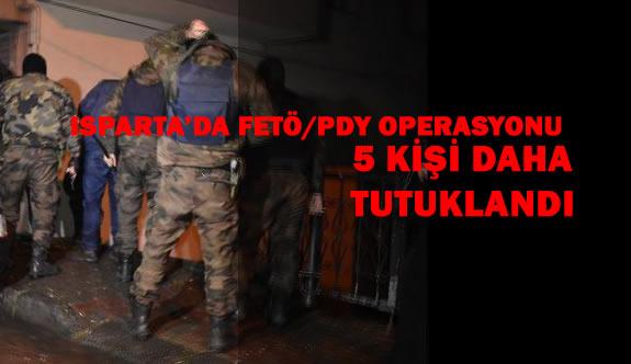 FETÖ/PDY Operasyonunda 5 Kişi Daha Tutuklandı