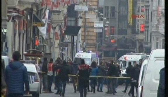 İstanbul İstiklal Caddesinde Patlama Oldu