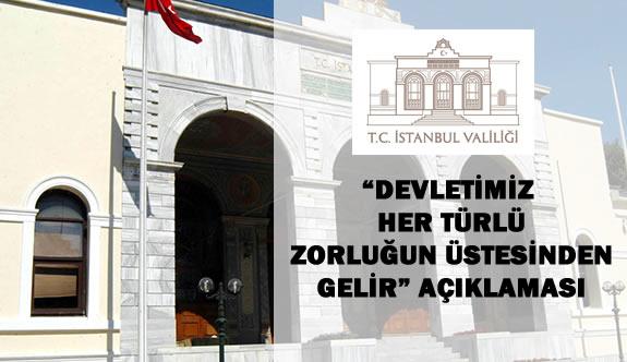 """İstanbul Valiliğinden """"Almanya"""" Açıklaması Geldi"""