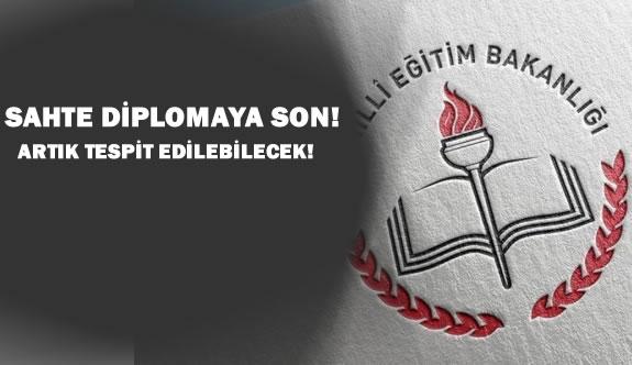 MEB'den Sahte Diploma Tespiti İçin Sistem