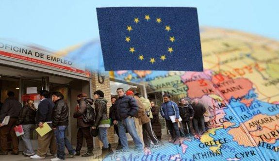 Ocak Ayında Avrupa'da İşsizlik Azaldı