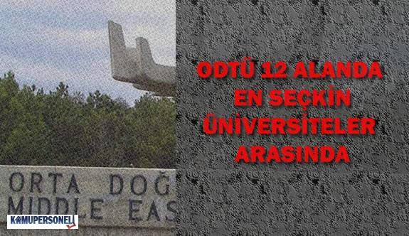 ODTÜ Dünyanın En Seçkin Üniversiteleri Arasında