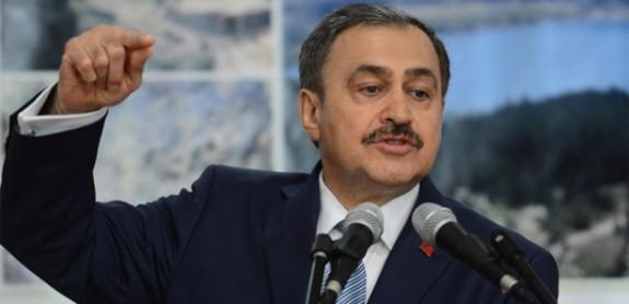 Orman ve Su İşleri Bakanı Veysel Eroğlu'ndan Açıklama