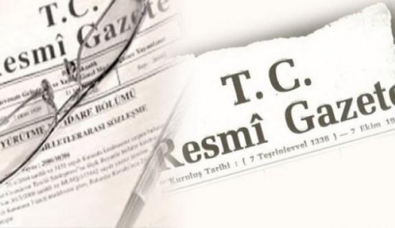 9 Mart 2016 Tarihli Resmi Gazete Atama Kararları