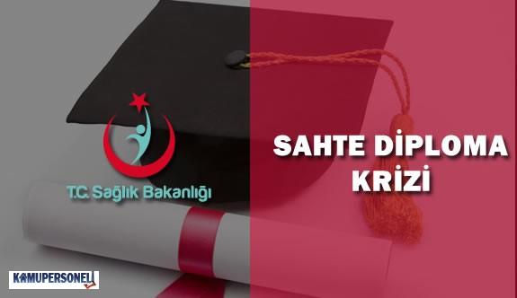 Sağlık Bakanlığı Sahte Diplomalar İçin Düğmeye Bastı