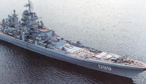 Sıcak Saatler Rus Donanmasına Ait Gemi İstanbul Boğazında