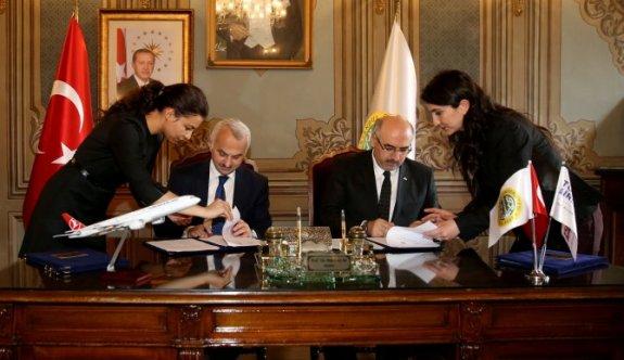 THY İle İstanbul Üniversitesi Arasında Sınav Protokolü İmzalandı