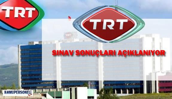 TRT Personel Alımına Ait Sınavın Sonuçları Açıklandı