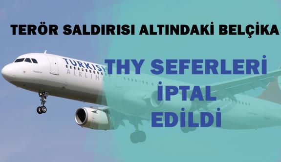 Türk Hava Yolları Bu Gün 9 Seferini İptal Etti