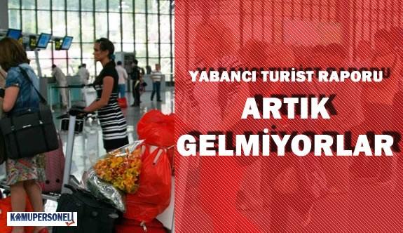 Türkiye'ye Eskisi Kadar Yabancı Turist Gelmiyor