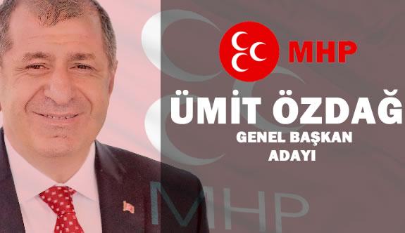 Ümit Özdağ MHP Genel Başkanlığına Aday Oldu